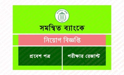 Combined bank Job Circular
