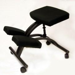 Desk Chair Knees Graco Swing Vibrating Bp1420 Betterposture Standard Kneeling Black