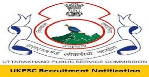 Uttarakhand PSC Lecturer Recruitment
