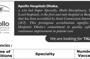 Apollo Hospitals Job Circular 2018