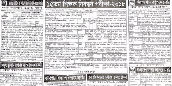 Weekly Jobs Newspaper 14 December 2018