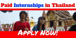 Paid Internships in Thailand