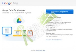 Google Drive Spotted In A Screenshot