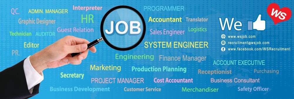 Programmer – Wide Spread Intertrade Recruitment Co., Ltd.