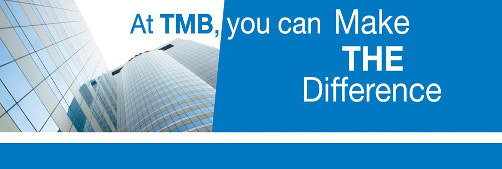 Team Head Of Credit Risk Data & Rule – TMB Bank Public Company Limited