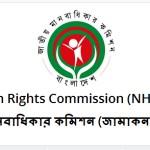 National Human Rights Commission Jobs Circular 2016