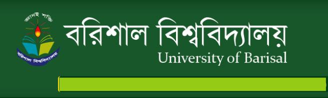 Barisal University Honors Admission Test 2016 www.barisaluniv.edu