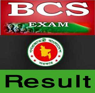 37th BCS  Preliminary Exam Result 2016