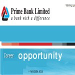 Prime Bank Jobs Circular 2016 career.primebank.com.bd