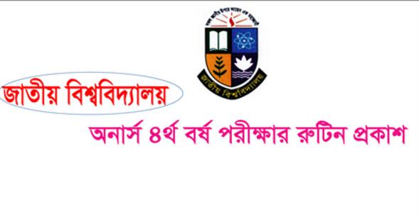 Honours 4th Year Exam Routine 2016