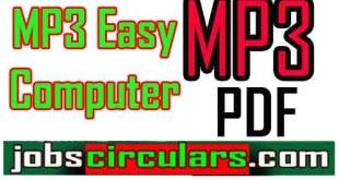 MP3 Easy Computer MP3 ইজি কম্পিউটার PDF Download