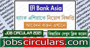 bank asia job circular 2021