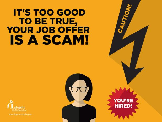 check for fraudulent or scam jobs
