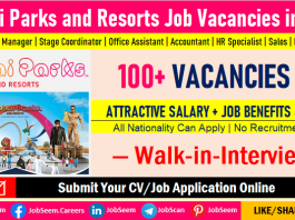 Dubai Parks and Resorts Careers Recruitment in UAE, Apply for Latest DPR Job Vacancies and Openings