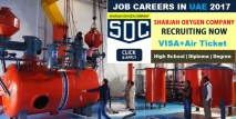 JOBS UAE | Sharjah Oxygen Job Careers | Latest Job Vacancy in UAE company