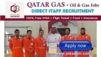Multiple Job Careers at QATAR Gas Company | Jobs in Qatar 2017