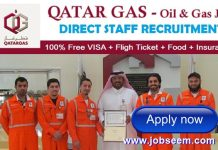 Qatar Gas Careers Recruitment Apply for Oil and Gas Jobs in Qatar