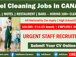 Hotel Cleaning Jobs in Canada for Foreigners Hiring Hotel Cleaners