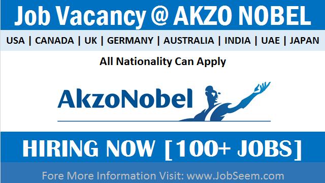 AkzoNobel Careers Exciting Job Vacancies Paint Chemical