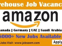 Amazon Careers 2018 Vacancy Openings for Amazon Warehouse Jobs