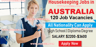Domestic House Cleaning and Housekeeping Jobs in Australia 2019 Apply Now