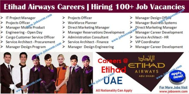 Etihad Airways Careers Recruitment Hiring Cabin Crew and Flight Attendant Jobs 2020