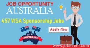 Latest 457 VISA Job List in Australia 457 VISA Sponsorship Job Offers Available Company in Australia July 2018