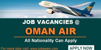 Oman Air Careers Vacancy and Opportunities Exciting New Jobs in Oman Air 2018