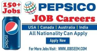 PepsiCo Careers | Job Vacancy Recruitment in PEPSI Company 2020 | USA-Canada-Australia-India