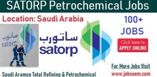 SATORP Job Career Vacancy in SAUDI ARABIA Recruiting Now