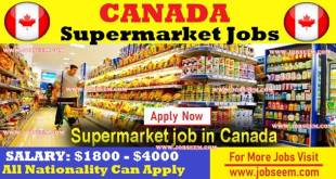 Walmart Supermarket Job Careers in CANADA 2018