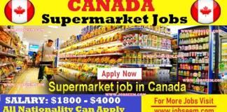 Walmart Supermarket Job Careers in CANADA 2018