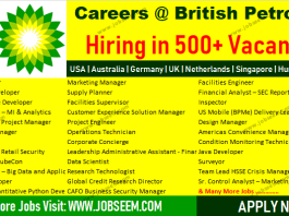 British Petroleum Jobs BP Careers Urgent Recruitment 2018 Apply Now