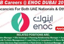 ENOC Job Vacancies in Dubai 2019 Latest ENOC Job Careers Recruiting Staffs Urgently 2019 ENOC Dubai