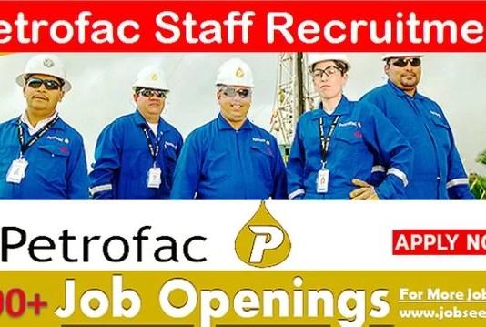 Petrofac Jobs Vacancy Openings & Careers Recruitment 2020