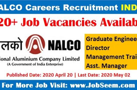 NALCO Careers Recruitment Apply Online for Latest Job Vacancies 2020