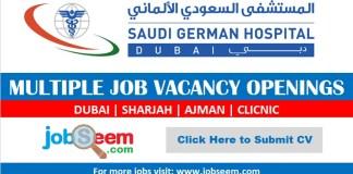 Saudi German Hospital Careers 2020 Sharjah Ajman Job Vacancy Openings