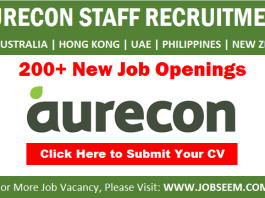 Aurecon Careers and Staff Hiring New Job Vacancy