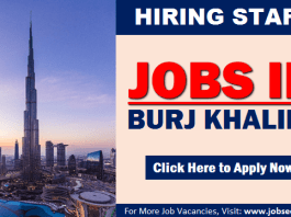 Burj Khalifa Careers New Jobs and Vacancy Openings