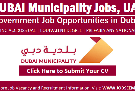 Dubai Municipality Careers Government Jobs in UAE