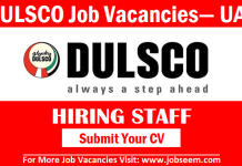 Dulsco Jobs Vacancy and Careers Recruitment in Dubai UAE