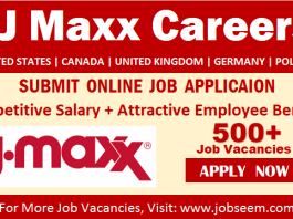 TJ Maxx Careers and Job Openings New TJX Jobs Vacancy and Staff Recruitment