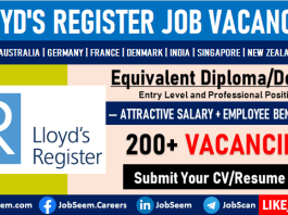 Lloyd's Register Careers and Job Recruitment Latest Employment Opportunities