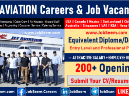 Jet Aviation Job Vacancy Openings and Careers Recruitment