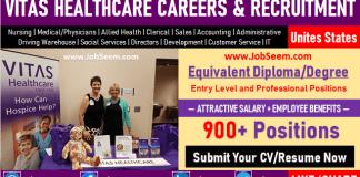 Vitas Careers and Employment Latest Vitas Hospice Healthcare Job Vacancy Openings