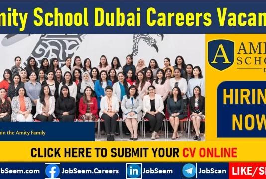 Amity School Dubai Careers and Job Vacancies For Teaching Staff