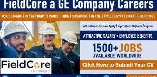 FieldCore GE Careers and Staff Recruitment Field Services Company Job Openings
