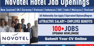 Novotel Hotel Job Vacancies Multiple Novotel Careers Opening and Staff Recruitment