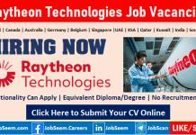 Raytheon Technologies Job Vacancies RTX Careers Opening and Staff Recruitment