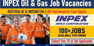 INPEX Corporation Oil and Gas Jobs and Careers Opening in Australia and Indonesia